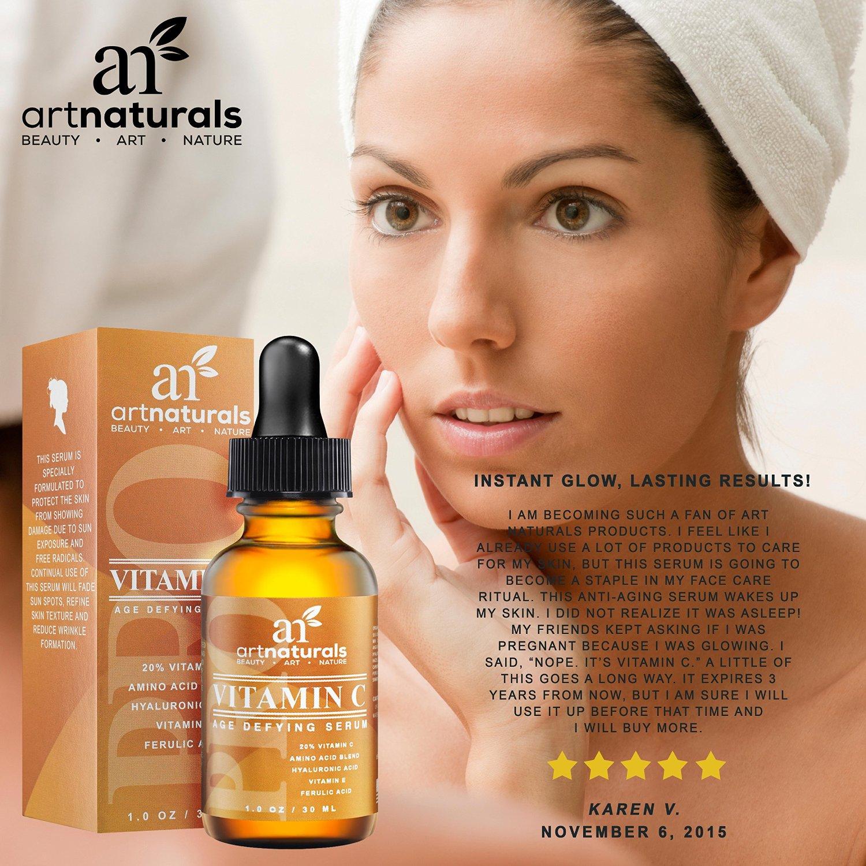 Enhanced Vitamin C Serum with Hyaluronic Acid